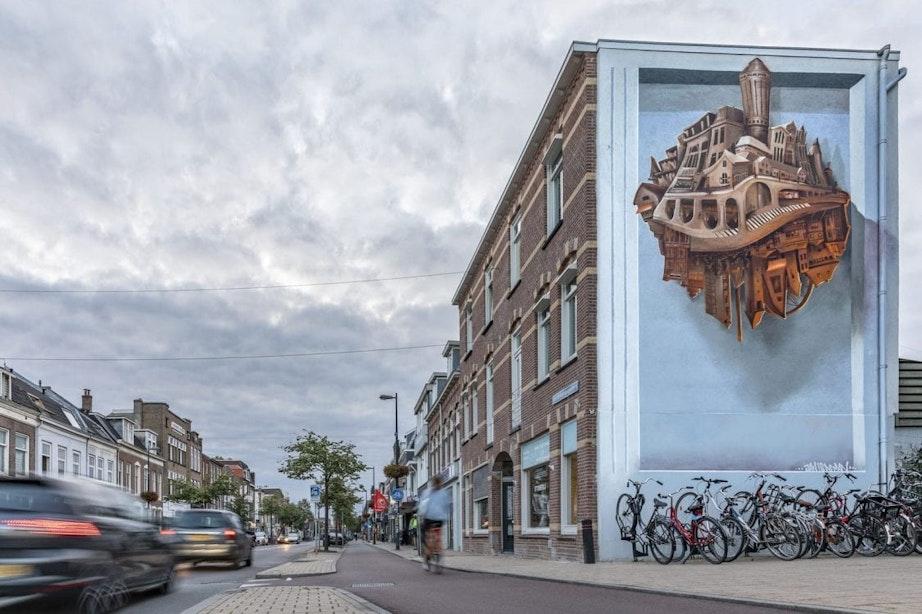Tien Utrechtse wijken, tien muurschilderingen