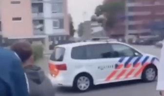 Achttien personen aangehouden tijdens onrustige avond in Utrechtse wijk Kanaleneiland