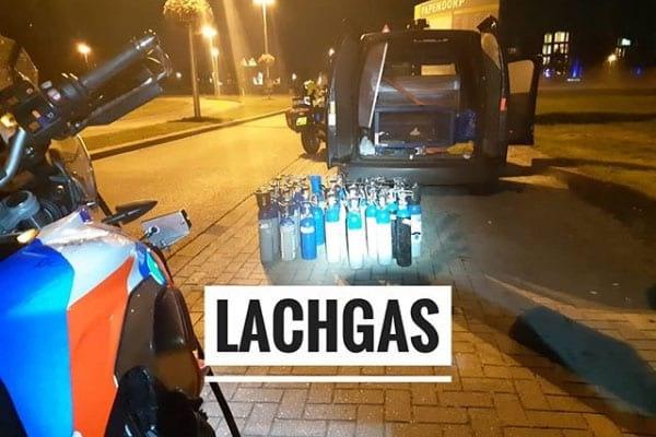 Automobilist met 'flinke' hoeveelheden lachgas aangehouden in Utrecht