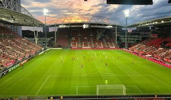Eerste wedstrijd FC Utrecht met publiek is een succes