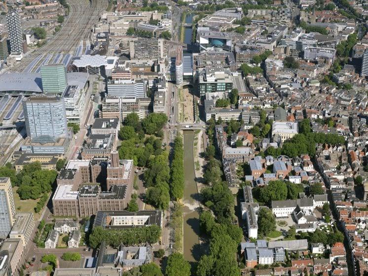 Bekijk hier de vordering van de singel in Utrecht in de afgelopen 5 maanden