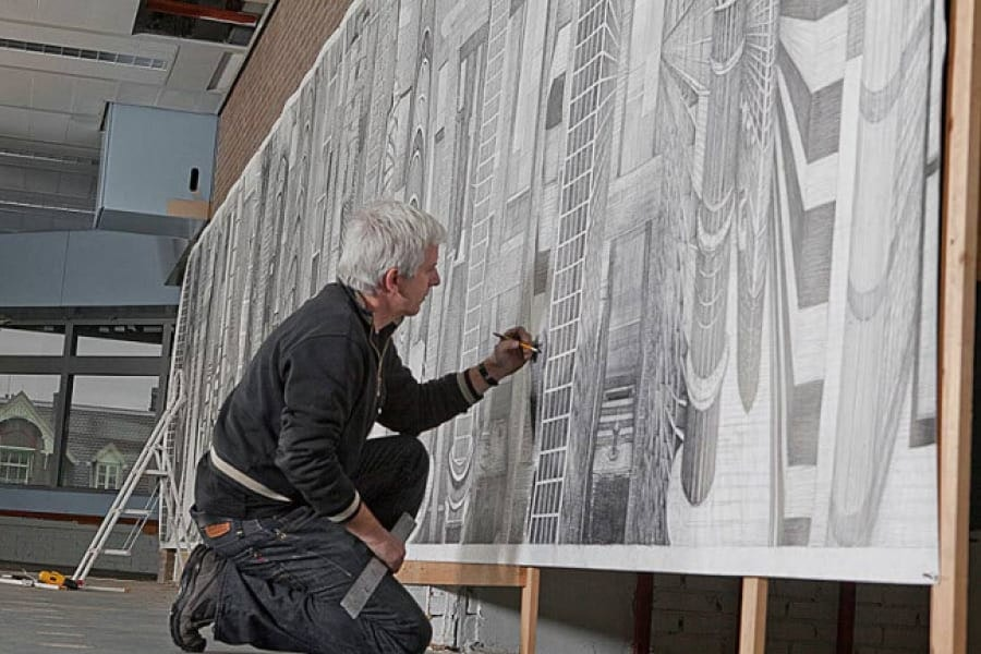 Robbie Cornelissen, virtuoos met potlood en papier