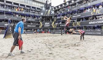 Eerste internationale sportevenement sinds corona trekt 4.000 bezoekers naar Jaarbeursplein