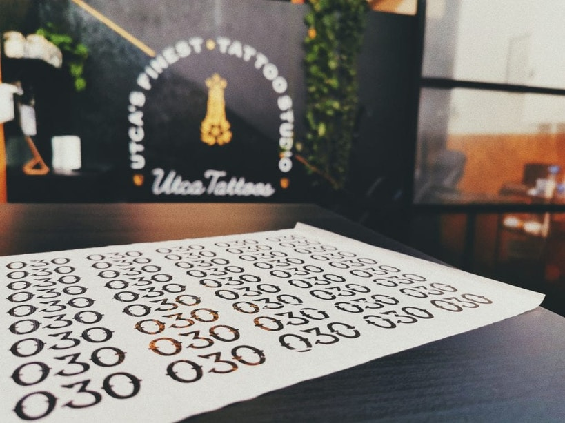 Alleen vandaag; gratis 030-tatoeage bij Utca Tattoo's