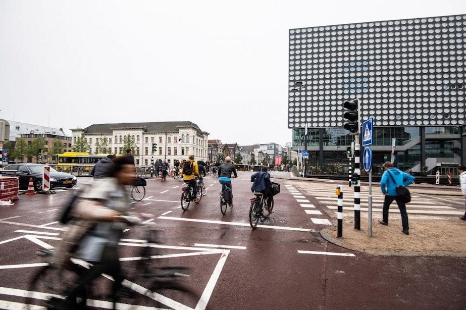 Kruispunt Catharijnesingel en Vredenburgknoop heeft definitieve inrichting