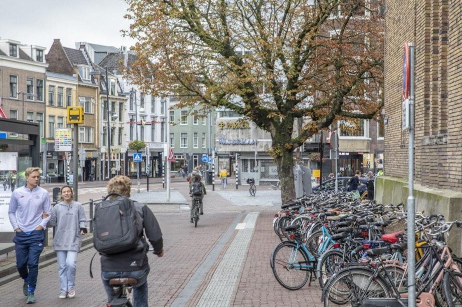 Fietsenrekken weg uit Potterstraat om meer ruimte te creëren voor voetgangers