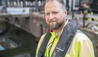 Herstel kluismuren Kromme Nieuwegracht ging niet zonder slag of stoot