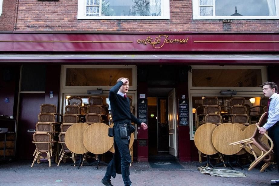 Café Le Journal tijdelijk dicht vanwege personeelslid met corona