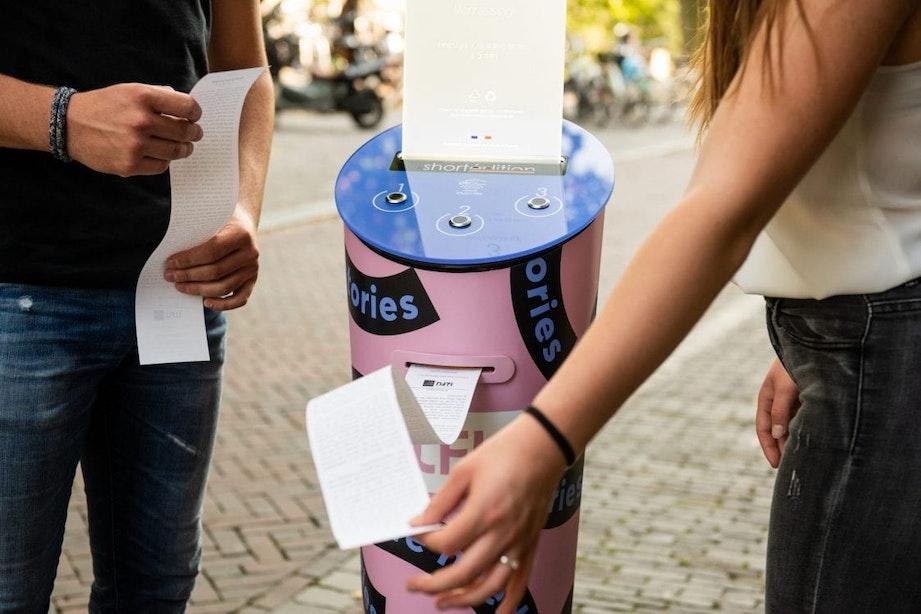 Utrecht krijgt de eerste verhalenmachine van Nederland