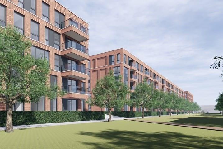 Bouw 416 nieuwe appartementen op Heycopterrein in Utrecht van start