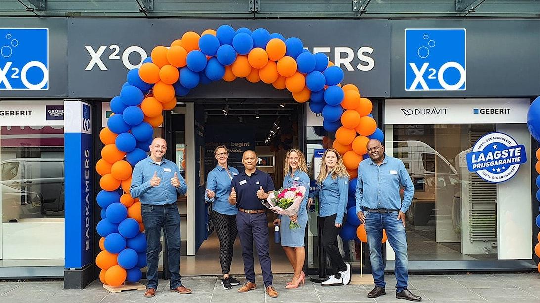 Nieuwe X²O badkamers showroom in Utrecht