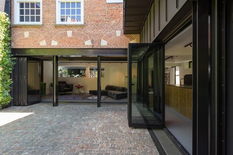 Patiowoning Ridderhofstad in centrum Utrecht te koop voor 2.750.000 euro