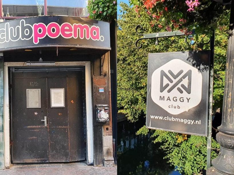 Club Poema en Club Maggy in Utrecht moesten sluiten vanwege overtreding coronamaatregelen
