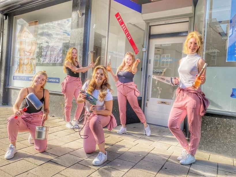 Meisjes van de Wijn openen pop-up wijnwinkel aan Utrechtse Biltstraat