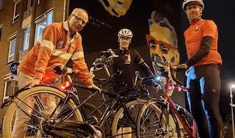 Utrechters fietsen alternatieve Vuelta-etappe in de vorm van Spaanse stier
