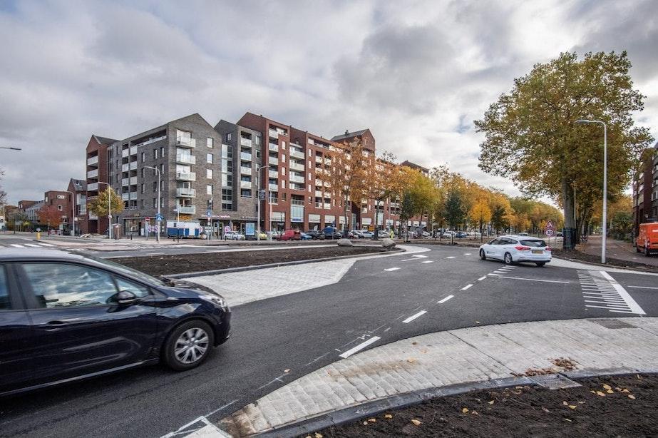 't Goylaan in Utrecht heeft weer een nieuw verkeersplein