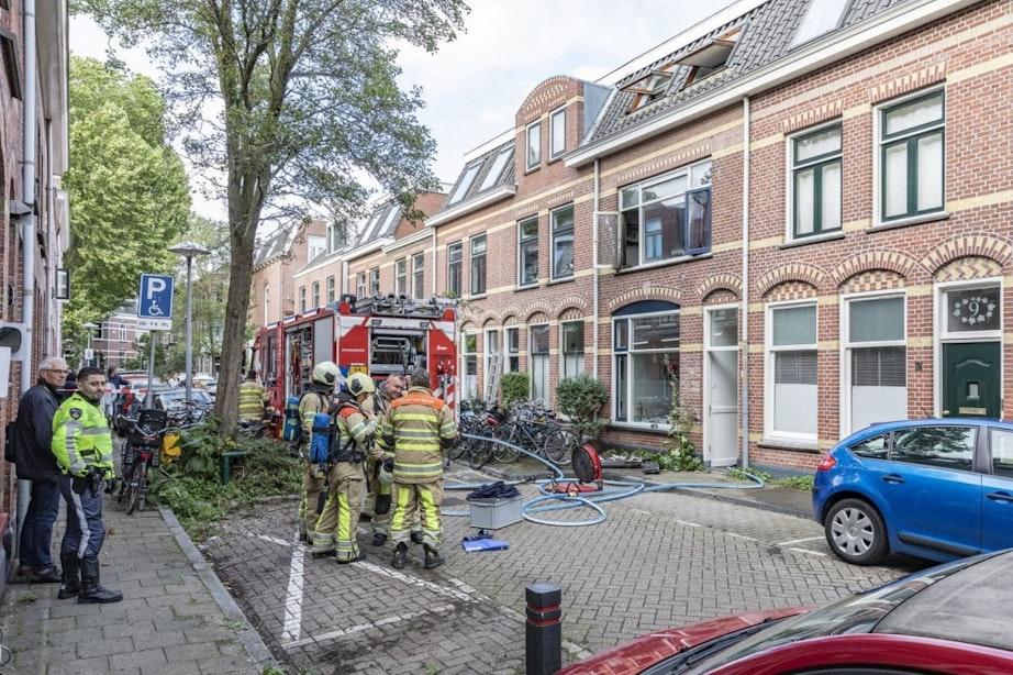 Twee gewonden bij brand in woning aan 1e Spechtstraat in Utrecht