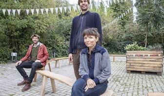 Tafelboom maakt al tien jaar producten van Utrechts stadshout; vandaag werd dat gevierd