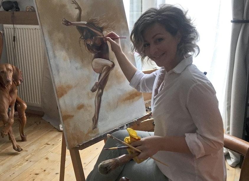 Utrechtse kunstenaars: Anna Ulyashyna, Wit-Russisch realisme