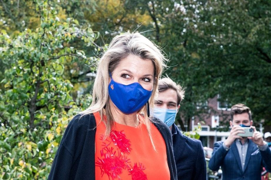 Koningin Máxima op bezoek bij Utrechtse zorginstelling Lister