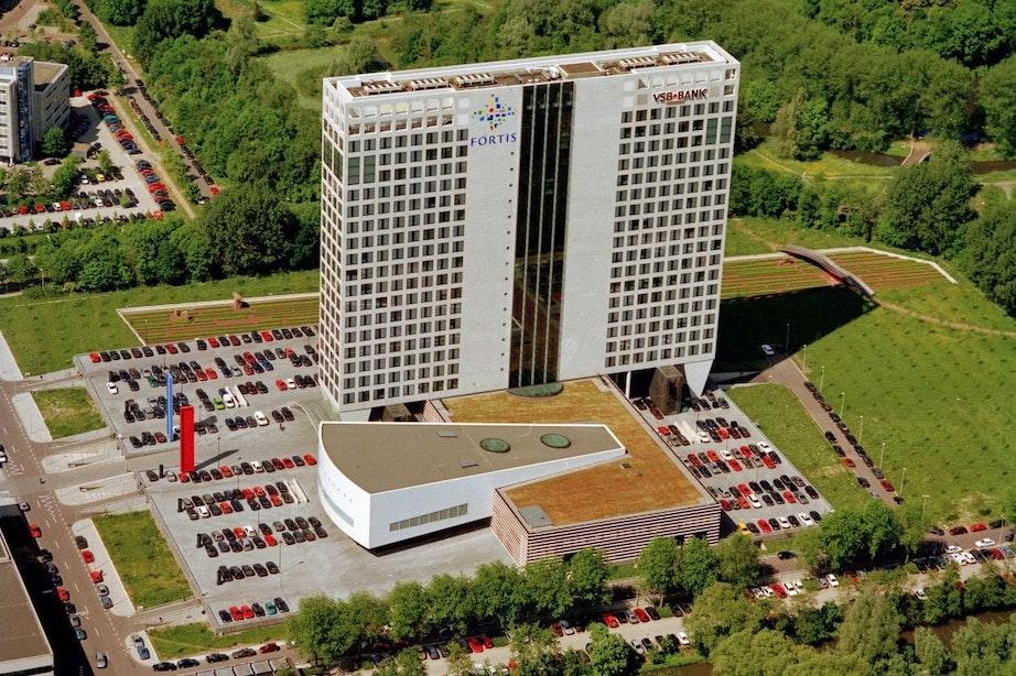Nieuwe monumenten 1970-2000: VSB/Fortis-gebouw in Rijnsweerd Noord