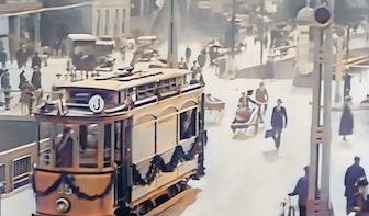Bijzondere videobeelden in kleur van Utrecht in 1917