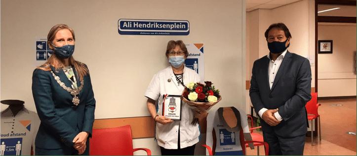 Uitzonderlijk jubileum: Ali Hendriksen werkt al 70 jaar in Diakonessenhuis