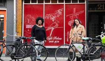 Utrecht volgens Fardusa Essa, eigenaar Café Fokus en voorzitter Annie Brouwer-Korfprijs
