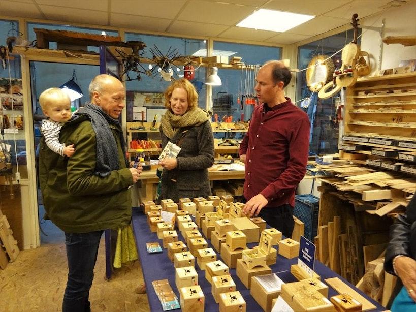 Utrechts gemaakt: Muziekdoosjes van hout uit de stad