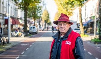 Piet van Helsdingen (63) is straatconciërge in de Utrechtse wijk Lombok