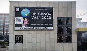 Tijdelijk onderkomen voor theater op Berlijnplein na verwoestende brand