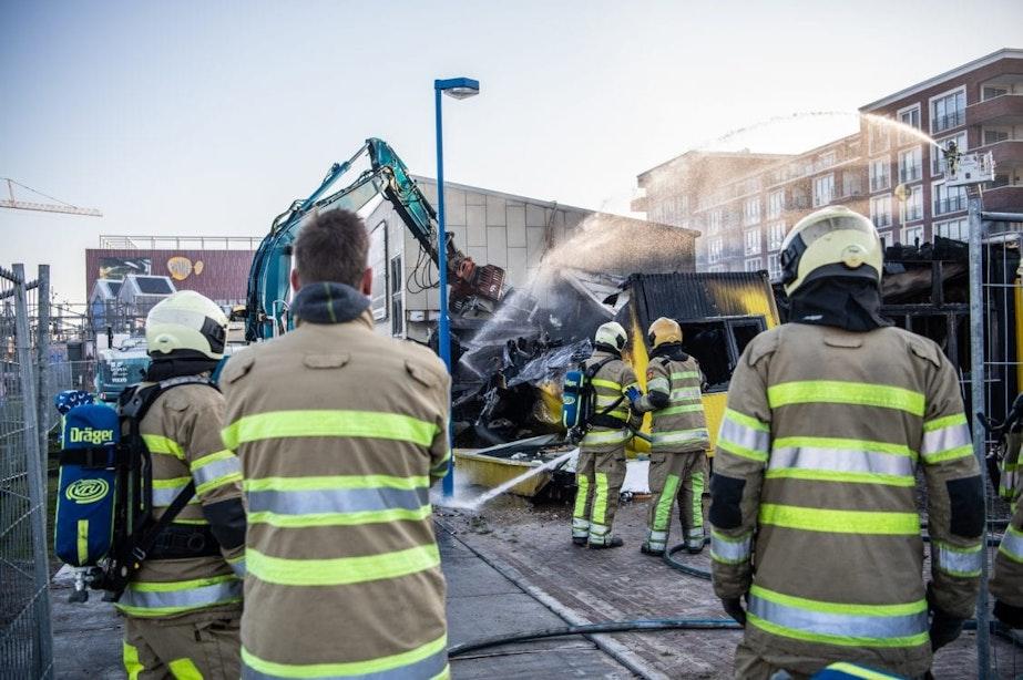 Brand verwoest theater Berlijnplein in Utrecht: vier minderjarigen opgepakt