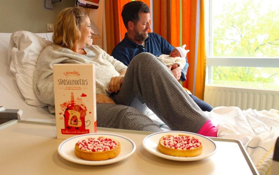 Muisjes tegenwoordig ook in rood en wit voor Utrechtse ouders