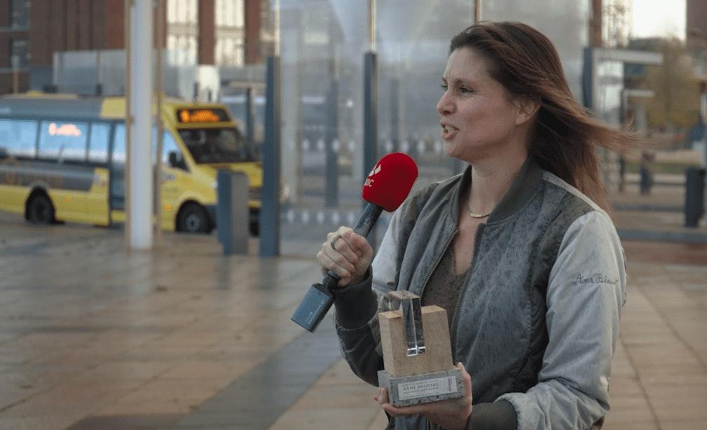 Uitreiking Utrechtse Rietveldprijs 2020: 'Kathedraal voor het wachten'