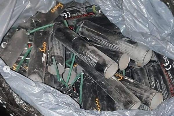 Politie vindt 54 kilo illegaal vuurwerk in berging in Utrecht