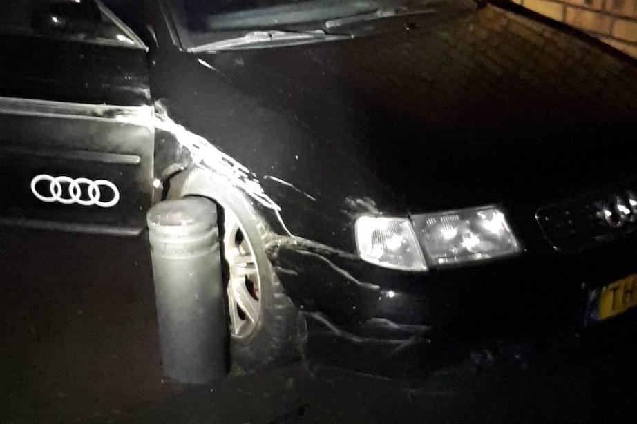 Wegpiraat zonder rijbewijs laat spoor van vernieling na in Leidsche Rijn