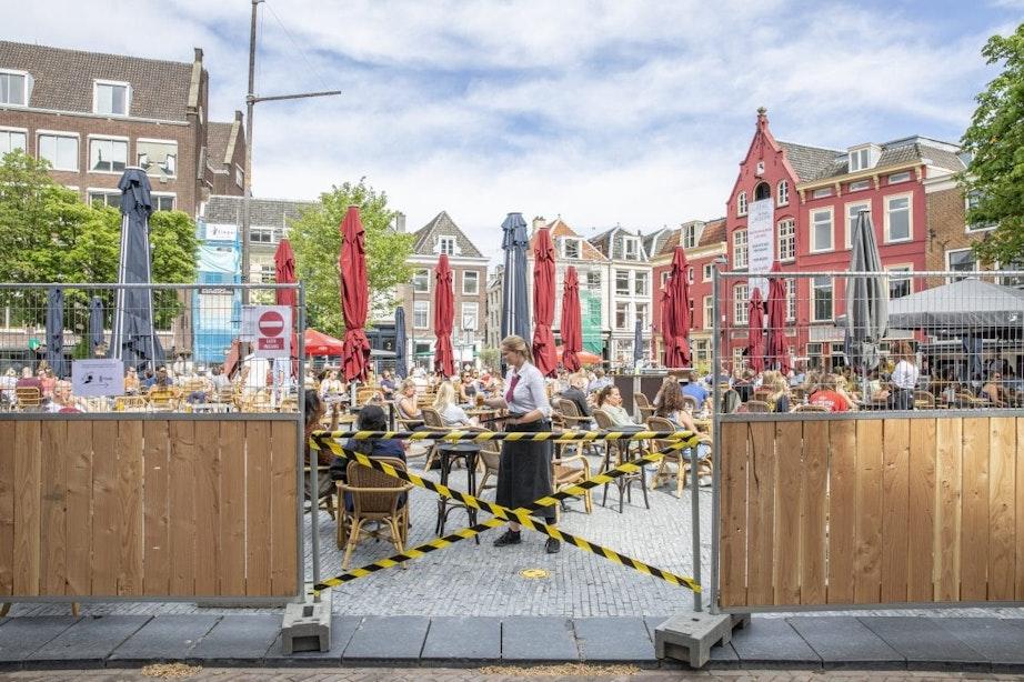 Utrecht en andere steden doen nogmaals oproep buitenruimten en terrassen te openen