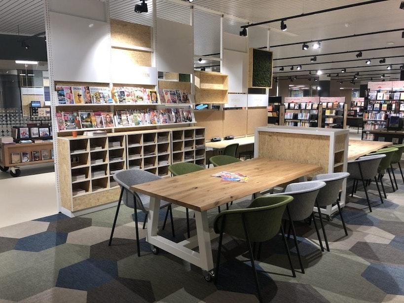 Bibliotheek Overvecht is weer open na verbouwing