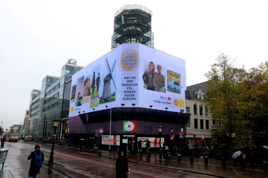 Partij voor de Dieren in Utrecht wil af van reclames voor vliegvakanties en vervuilende auto's