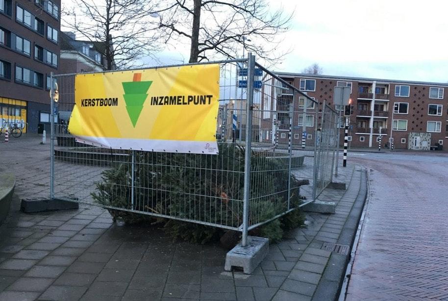 Inzameling kerstbomen Utrecht