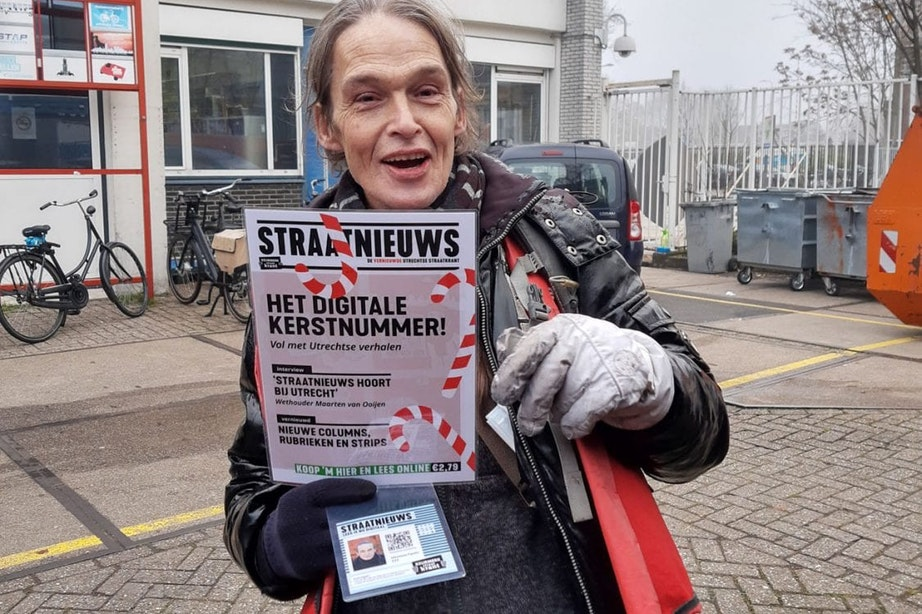 'Straatnieuws Utrecht heeft met digitale krant wereldprimeur te pakken'