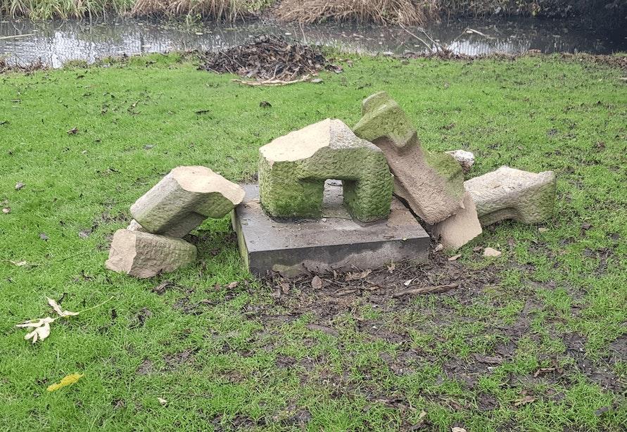Gemeente Utrecht doet aangifte van vernieling kunstwerk in Park Oog in Al