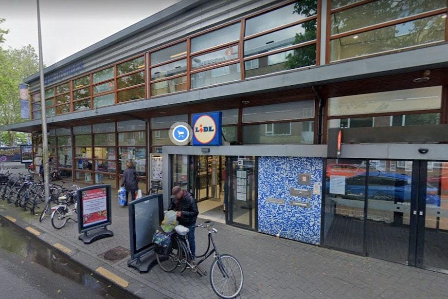 Poging tot overval bij Lidl aan Smaragdplein in Utrecht