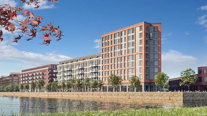 Start bouw 454 nieuwe huurwoningen in Leidsche Rijn centrum