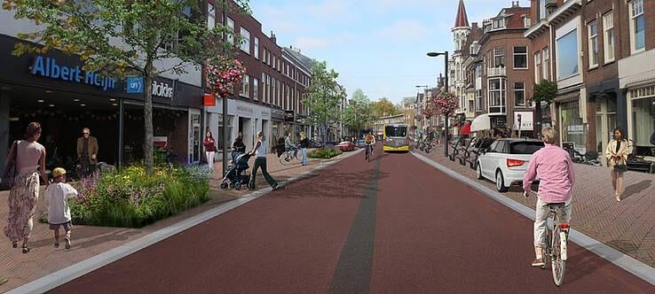 Gemeente begint op 4 januari met herinrichting Utrechtse Nachtegaalstraat