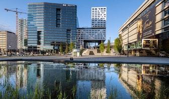 Half jaar lang werkzaamheden aan vijver Jaarbeursplein, beton blijkt niet goed te zijn