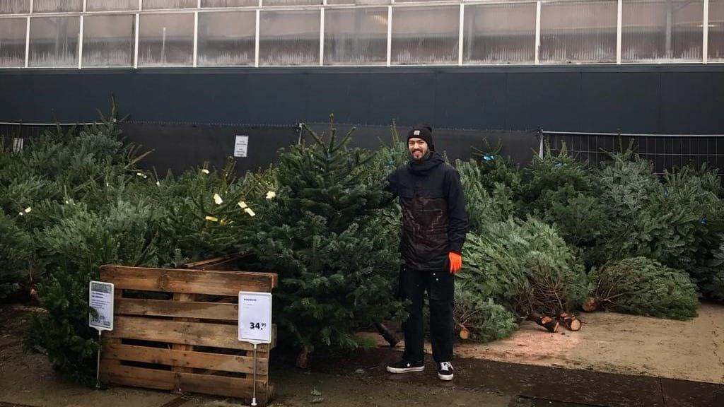 Nog geen kerstboom? Je kunt nog terecht bij Steck!