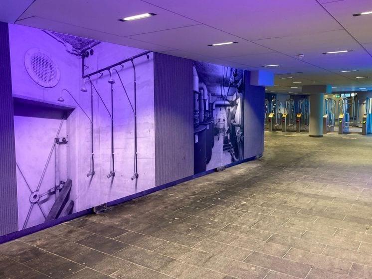 Fototentoonstelling Utrechtse Noordertunnel herinnert aan verleden als atoomschuilkelder