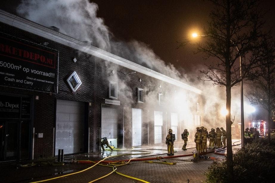 Nog steeds onduidelijkheid over oorzaak brand CAB-gebouw; 'We kunnen nog niks concluderen'