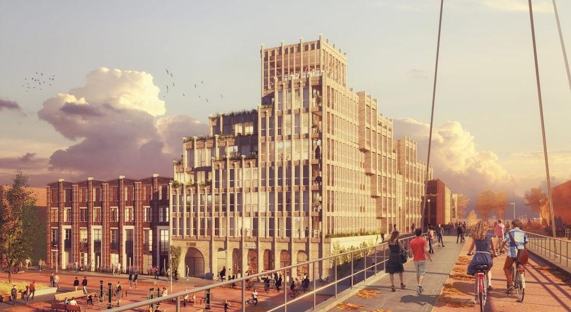 Nieuwe woonbuurt Leeuwesteyn in Utrecht krijgt 70 duurzame huur- en koopwoningen